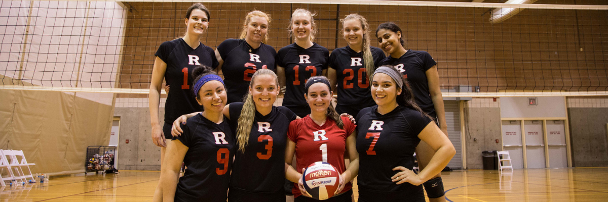 Rutgers volleyball team